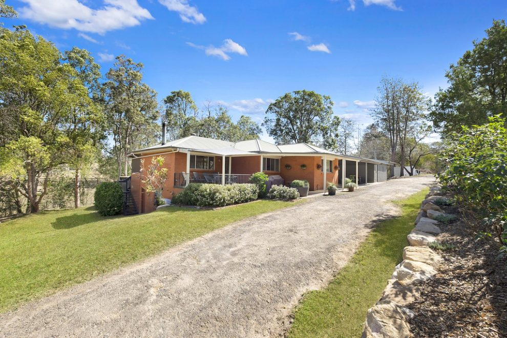 Stylish Home on Just Under 1 Acre